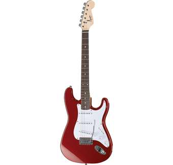 SQUIER BULLET STRATOCASTER FIESTA RED