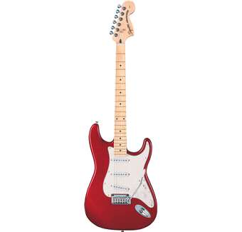 FENDER SQUIER STANDARD STRATOCASTER CANDY APPLE RED