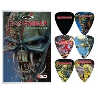 PACK 6 PUES IRON MAIDEN 1