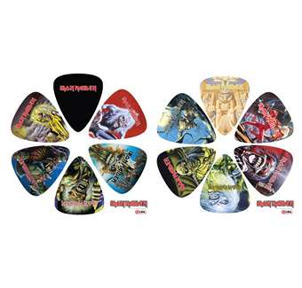PACK 12 PUES IRON MAIDEN 1