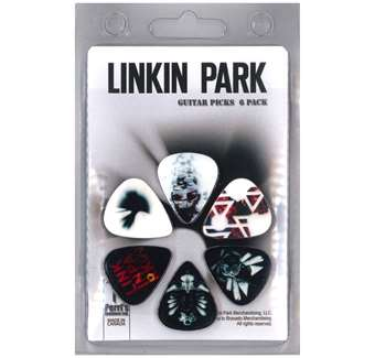 PACK 6 PUES LINKIN PARK 2